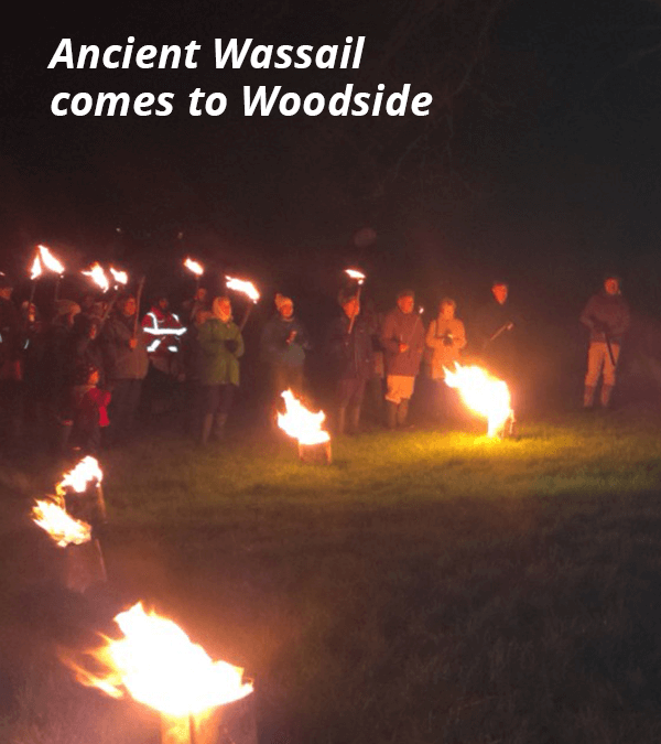 Ancient Wassail comes to Woodside