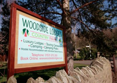 woodisde-signage